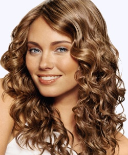 Curly Hair Color