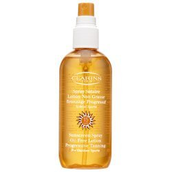 Clarins Sunscreen Spray Oil