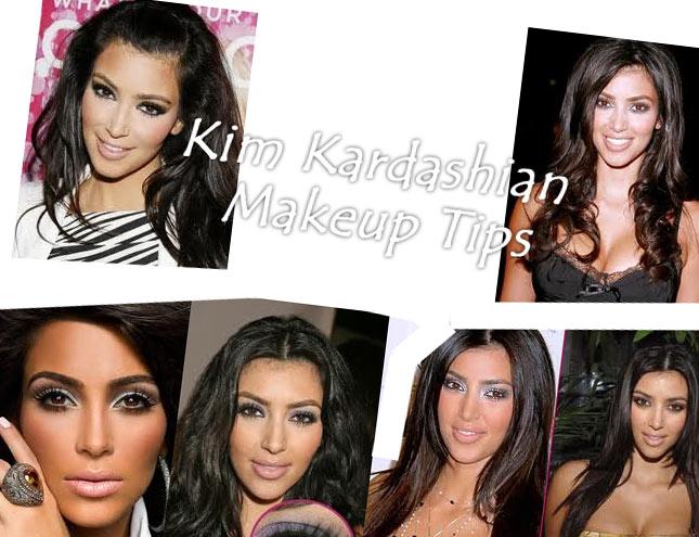 kim kardashian makeup lesson. kim kardashian makeup secrets.